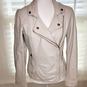 Lucky Brand Leather Jacket XS